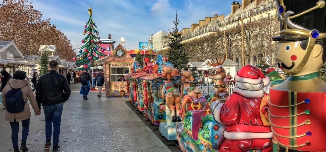 Un joyeux Noël à Paris!