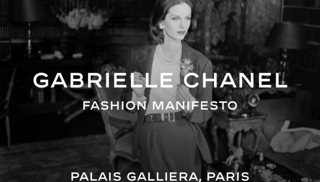 """""""Gabrielle Chanel, fashion manifesto"""""""