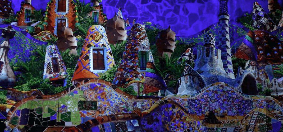 Dalí et Gaudí à l'atelier des Lumières