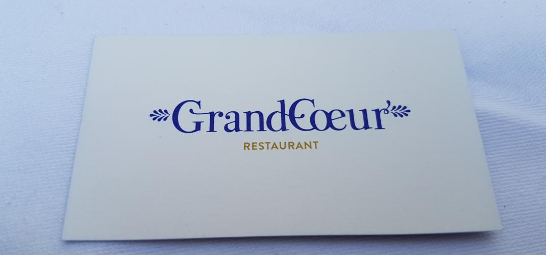 Grand Coeur - Restaurant terrasse en plein Paris
