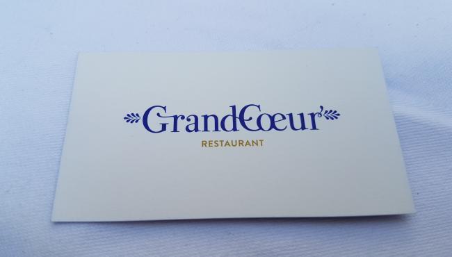 Grand Coeur - Restaurant terrasse en plein Paris