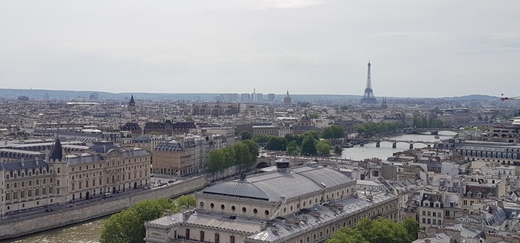 Tour St Jacques - une visite inhabituelle