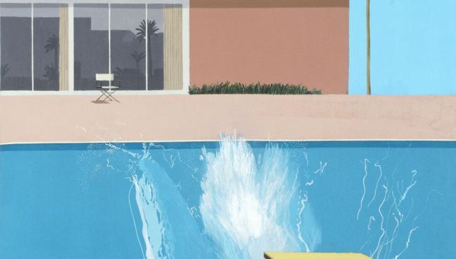 David Hockney - Centre Pompidou