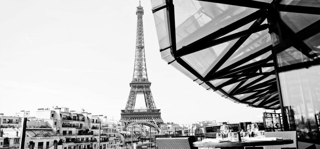 Les Ombres - restaurant avec l'une des plus belles vues de Paris!