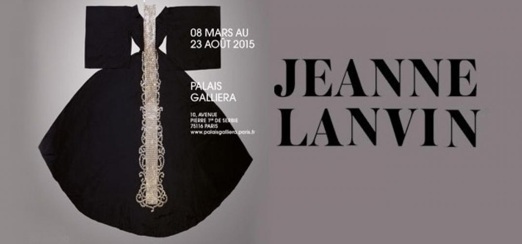 Jeanne Lanvin at the Palais Galliera