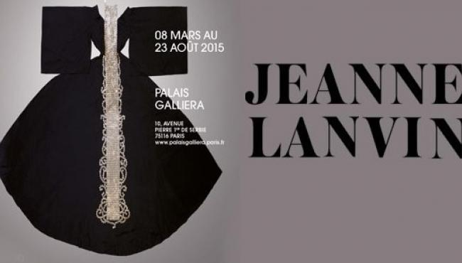 Jeanne Lanvin at the Palais Galliera