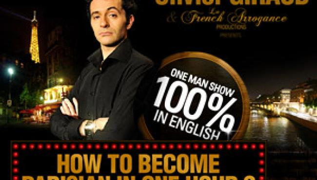 An evening to laugh in Paris and in English!!
