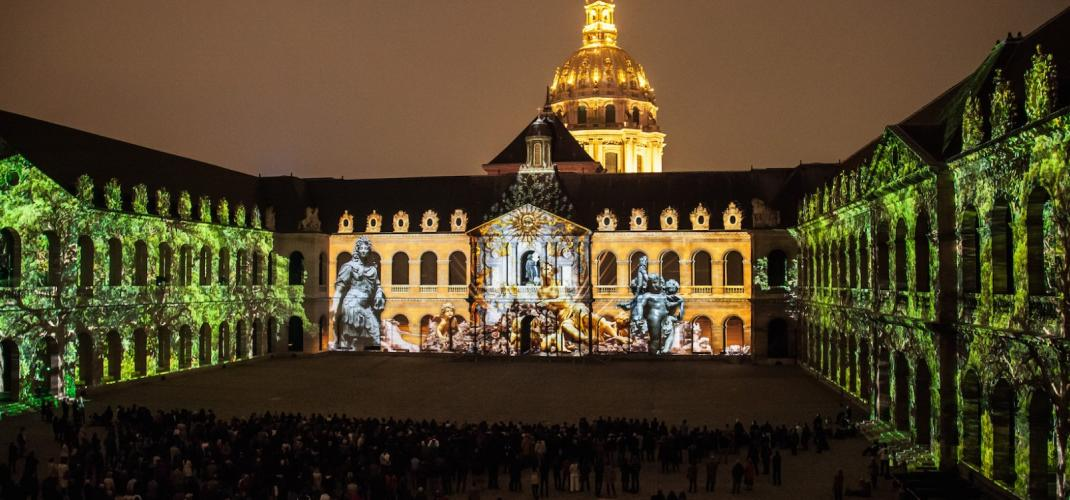 The night at the Invalides - A light and sound show