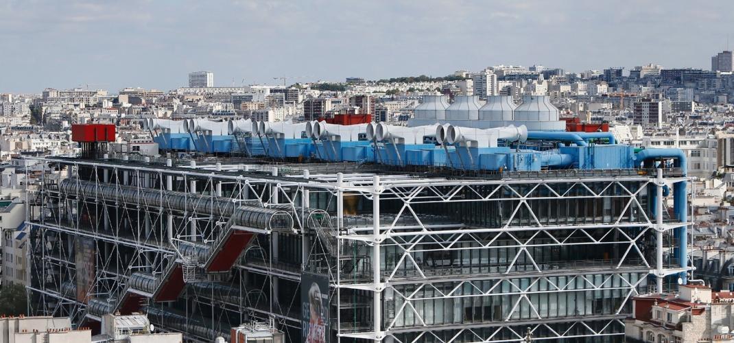 The Pompidou Center is celebrating its 40th birthday!