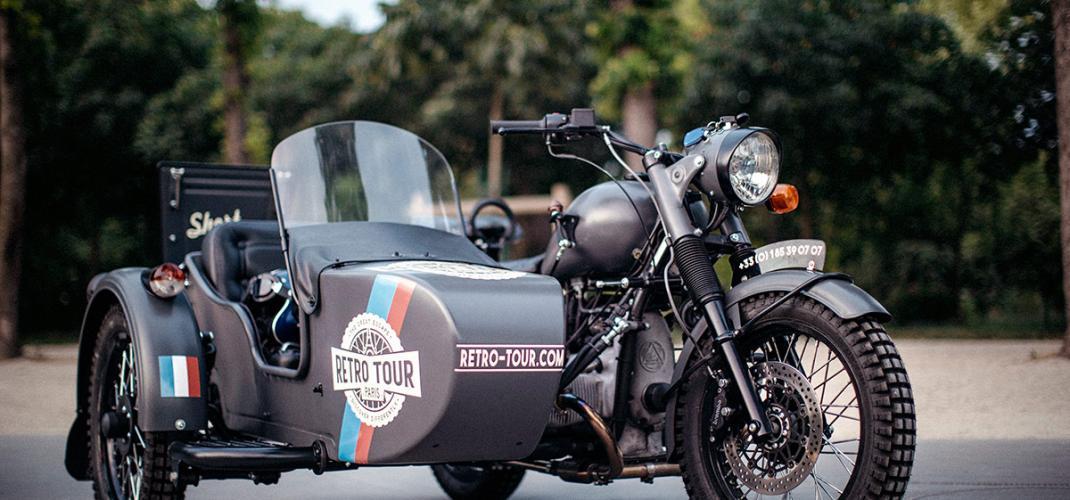Retro Tours Paris - An unusual way to get around Paris