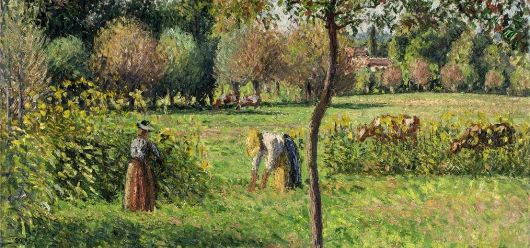 Pissarro - A Retrospective at the Luxembourg Museum