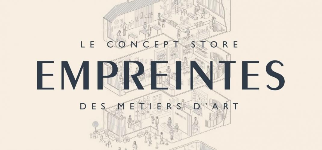 Empreintes - The Concept Store showcasing design and creativity