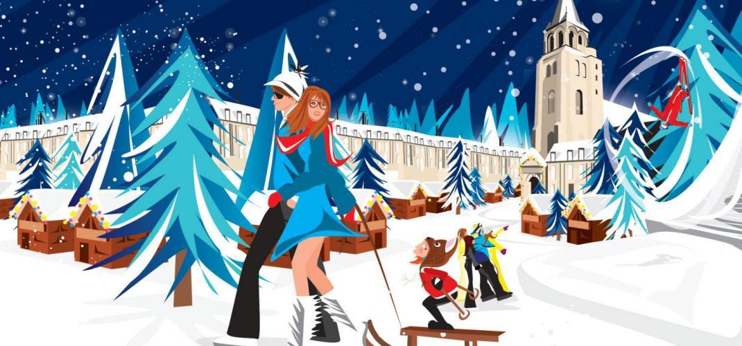 Next weekend it is Saint Germain of Snow!