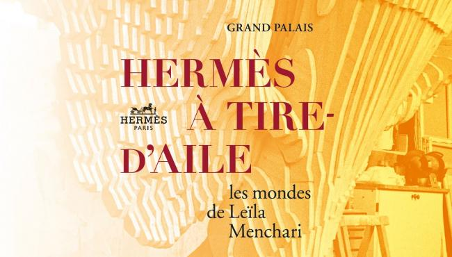 Hermès à tire d'aile! - The most beautifully designed shop windows are at the Grand Palais