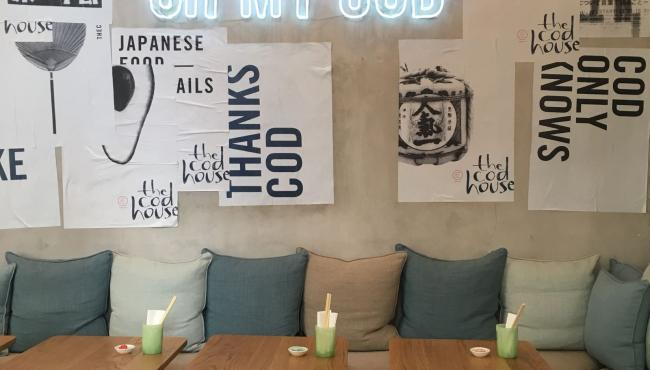 The Cod House - a new original concept of Japanese tapas