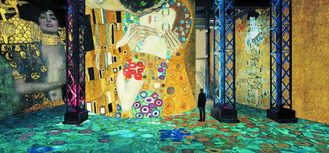 Klimt at the Atelier des Lumières: an immersive experience