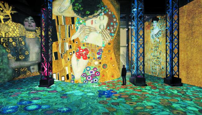 Klimt at the Atelier des Lumières: an immersive experience