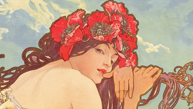 Discover Alphonse Mucha's artworks at the Luxembourg Museum