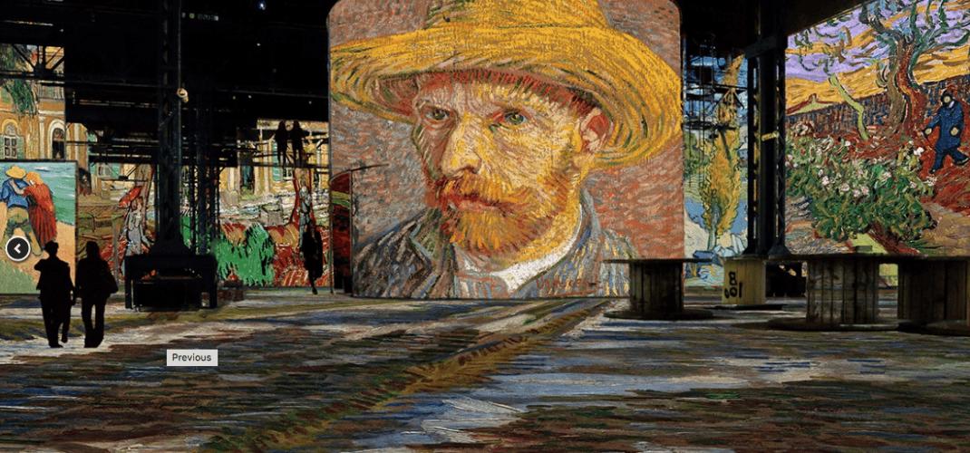 Van Gogh, La Nuit Etoilée : the new exhibition at Atelier des Lumières
