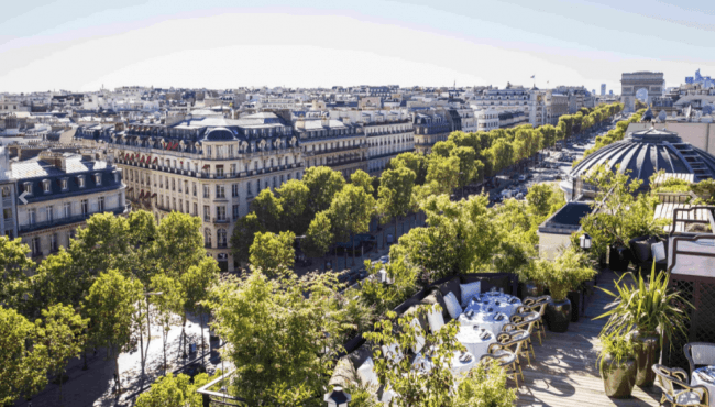 MUN - THE NEW ROOFTOP IN THE HEART OF THE CHAMPS ELYSÉE