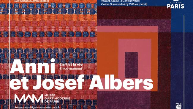 Anni et Josef Albers : L'art et la vie, au Musée d'art moderne